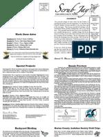 November 2009 Scrub Jay Newsletter, Marion Audubon Society