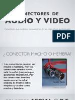 Conectores, Cableado y Transporte de La Señal de Audio