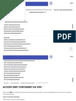 Access DNIF Container via SSH _ DNIF