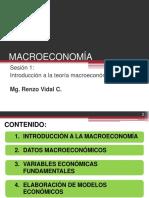 S1. Introducción a La Teoría Macroeconómica