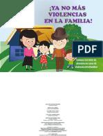 Rotafolio No Mas Violencia en La Familia
