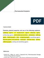 Pharmaceutical Excipients_