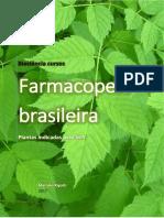@Fitoterapicosenutraceuticos 2017 Farmacopeia Brasileira