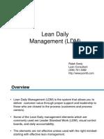 Lean Daily Management