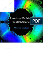 Unsolved Problems in Mathematics -Octavia Couture