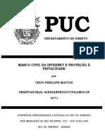 Celio Phellipe Mattos Monografia