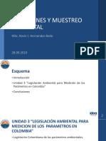 Mediciones y Muestreo Ambiental Presentacion - UNIDAD 3 (1)