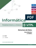 Estructura de Datos - Guía