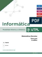 Matemáticas discretas - Texto-Guía 2019