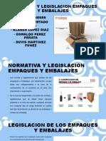 Normativa y Legislacion Empaques y Embalajes