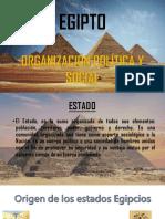 Org Social y Politica de Egipto Expo
