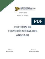 El Instituto de Previsión Social Del Abogado