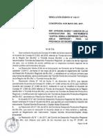Resolucion Exenta N122 Semilla Abeja Provincia de Bioio