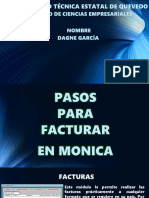 Monica Facturacion Dagne