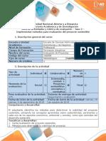 Guía de actividades y rúbrica de evaluación - Fase 2 - Implementar métodos para evaluación del proyecto sostenible (1).docx