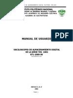 Osciloscopio Tectronix Manual