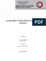 Learners With Difficulties in Seeingg