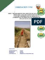 1. Caratula de Informe
