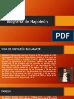 Biografía de Napoleón