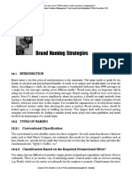 Brand Management Chapters 12-25 (Product and Brand Management, Anandan)