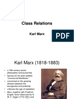 11. Marx on Class Relations