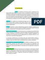Derecho Constitucional Temas 1 Al 10