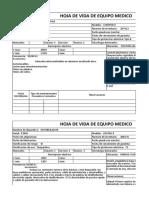 Formato de Equipo Medico