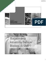 1 - Mengenal Biologi