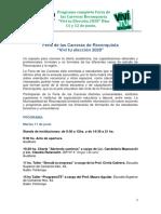 PROGRAMA FERIA DE LAS CARRERAS RECONQUISTA VIVI TU ELECCIÓN 2020 aal 20 del 5. Corregida CG.docx