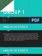 Group 1 Ethics