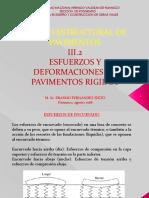 ESFUERZOS Y DEFORMACIONES EN PAVIMENTOS RIGIDOS