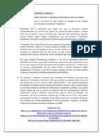 1era Unidad Dinamizadora Unidad 1 Juan Avendaño Economia de Largo Plazo