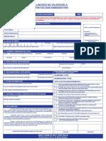 2020 PLV CAT Application Form Fillable