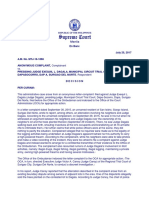 Anonymous Complaint v Dagala a.M. No. MTJ-16-1886