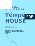 "PROPOSAL Bussiness plan ""Tempe House"""