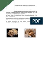 Estructuras Sedimentarias y Estruturas de Depositos