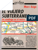 Marc Augé - El viajero subterráneo-Gedisa (1998).pdf
