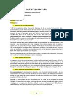 """Reporte de Lectura """"El Psicoanalista"""""""