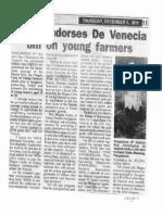 Peoples Tonight, Dec. 5, 2019, NEDA endorse De Venecia bill on young farmers.pdf