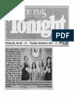 Peoples Tonight, Dec. 5, 2019, End Child Rape- House Majority Leader and Leyte Rep. Martin Romualdez and his wife Tingog Party-list Yedda Marie K Romualdez.pdf
