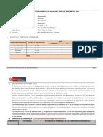 planificacion anual matematica primero