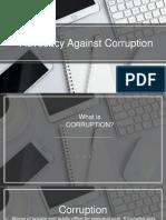 Chapter9- AdvocacyAgainstCorruption