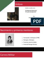 Unidad 4 José María Córdova - Gabriel Leandro Cataño