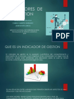 Actividad de Aprendizaje 11 Evidencia 4 Indicadores de Gestion