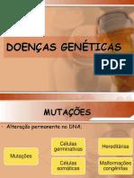 Aula Doenças Genéticas