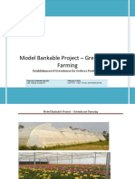 Model Bankable Project – Greenhouse Farming