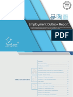 Employment Outlook Report