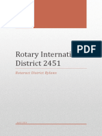 Copy of Rotaract District 2451 Bylaws