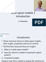 State Space 1 - Modelling