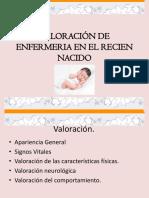 Valoracion de enfermeria en el recien nacido (1).ppt